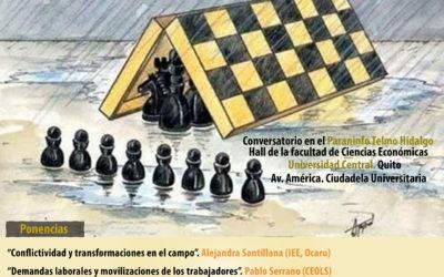Mesa de análisis de coyuntura: La conflictividad social en Ecuador. Análisis de una realidad