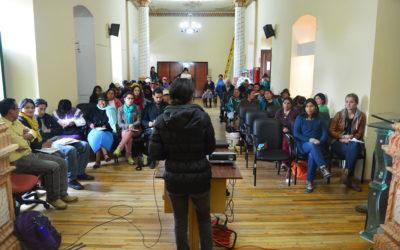 Agroecología, mujeres y soberanía alimentaria. Mesa de Diálogo, Cayambe.