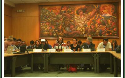 """""""La lucha es la esperanza, la única herramienta para los pueblos que defendemos nuestra democracia y nuestra Constitución"""": Carmen Lozano."""