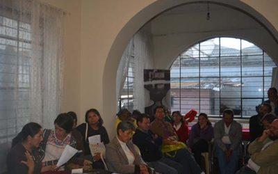 Mujeres, agua y territorios: una discusión crítica sobre los rumbos de la soberanía alimentaria en Ecuador.