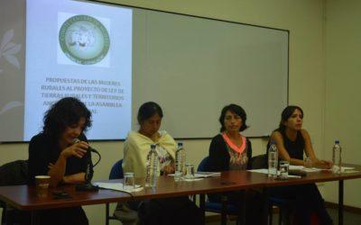 FORO: Ley de Tierras, Mujeres y Soberanía Alimentaria
