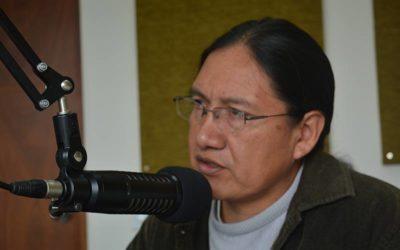"""""""Las Comunas y Comunidades del Pueblo Kitu Kara, herederas de la lucha de nuestros mayores"""", Fernando Cabascango, Presidente del Pueblo Kitu Kara."""