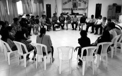 La formación política en organizaciones campesinas: La Troja Manaba.
