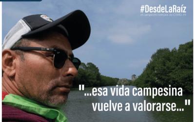 Voces Campesinas Ferdinand Muñoz «…esa vida campesina vuelve a valorarse…»