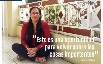 VOCES CAMPESINAS Irma Torosina: «Esto es una oportunidad para volver sobre las cosas importantes»