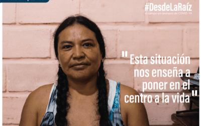 Voces Campesinas Nancy Bedón «Esta situación nos enseña a poner en el centro a la vida»