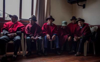 Voces del sector agrícola se manifiestan en Chimborazo