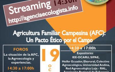 Desde el 14 de octubre las IV Jornadas Agroecológicas recorrerán el país