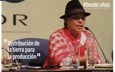 Voces Campesinas Diocelinda Iza «Distribución de la Tierra para la Producción»