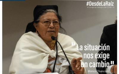 VOCES CAMPESINAS Blanca Chancoso «La situación nos exige un cambio»