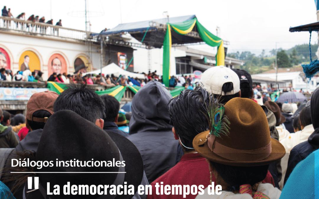 DIÁLOGOS INSTITUCIONALES – Entrevista con Guillermo Churuchumbi, alcalde de Cayambe