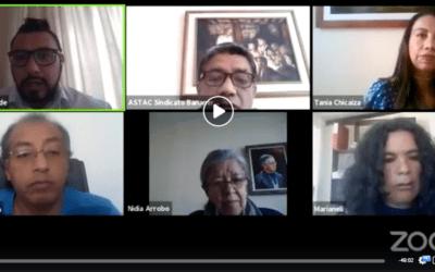 Organizaciones Sociales dan a conocer su posición frente a los Tratados de Libre Comercio y denuncian las consecuencias para el Ecuador