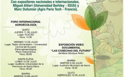 INVITACIÓN JORNADAS AGROECOLÓGICAS ECUADOR 2013