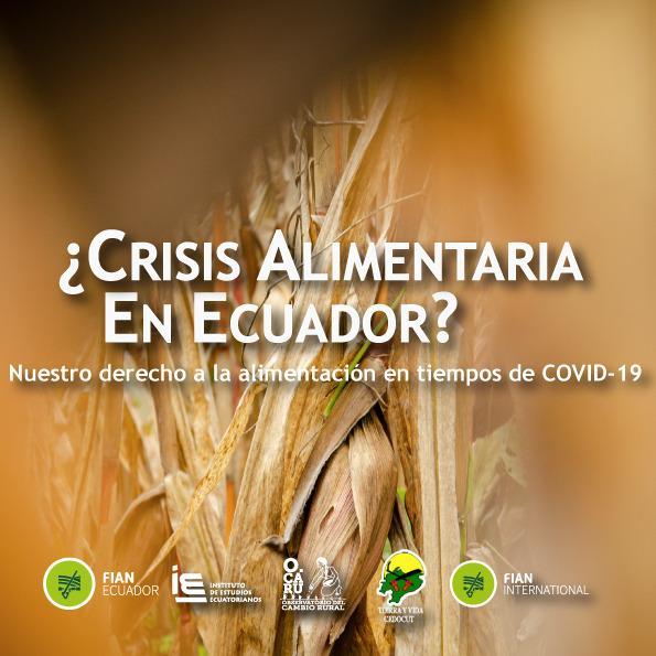 «¿Crisis Alimentaria en Ecuador?: Nuestro Derecho a la Alimentación en tiempos de COVID-19»