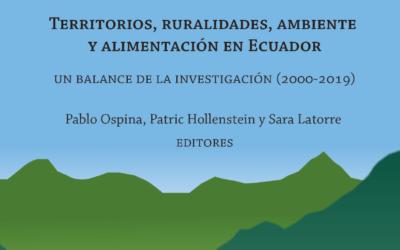 Territorios, Ruralidades, Ambiente y Alimentación en Ecuador: un balance de la investigación (2000-2019)