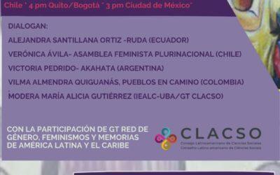 """Charla-Debate: """"Desafíos de los feminismos frente al proyecto conservador en América Latina y el Caribe"""""""