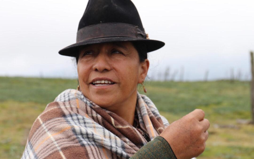 🌽🍅#ElijoSoberaníaAlimentaria – Organizaciones del campo por la Soberanía Alimentaria – Diocelinda Iza