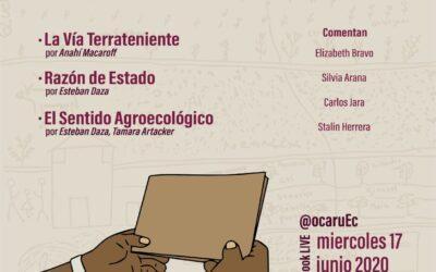 OCARU cumple 8 años en el 2020 y lanza Cuadernos de Reflexión