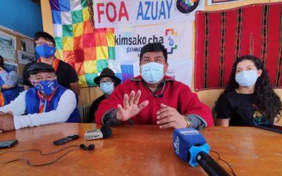 Ecuarunari pide respetar acuerdo para reconteo; anuncia movilización a Quito