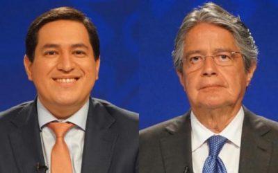 CNE proclama resultados de comicios: Arauz y Lasso 'pasan a segunda vuelta'