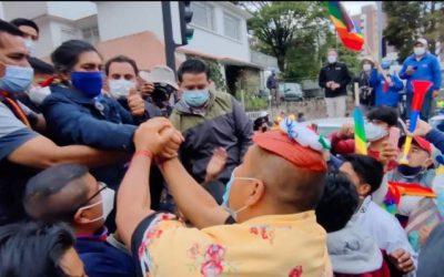 Este miércoles inicia marcha indígena hacia Quito por recuento de votos; afirman que será pacífica.