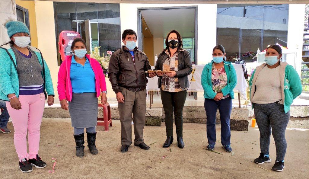 Asociación de agricultores de Pinllo obtiene personería jurídica