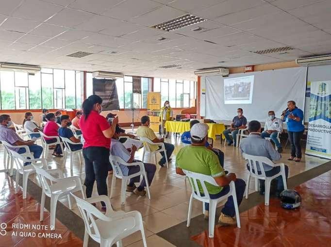 Impartieron capacitación agrícola en Mocache