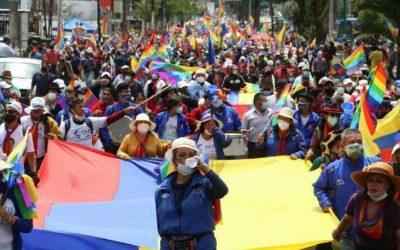 Movimiento indígena anuncia otra movilización