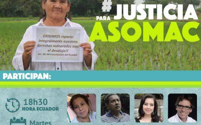 Conversatorio #JusticiaparaASOMAC
