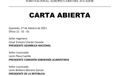#RechazoLeyAgropecuaria