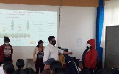 Productores de la Unorcac reciben capacitación agropecuaria