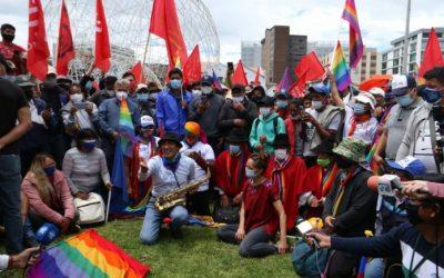 La inconformidad del movimiento indígena apunta en dos direcciones