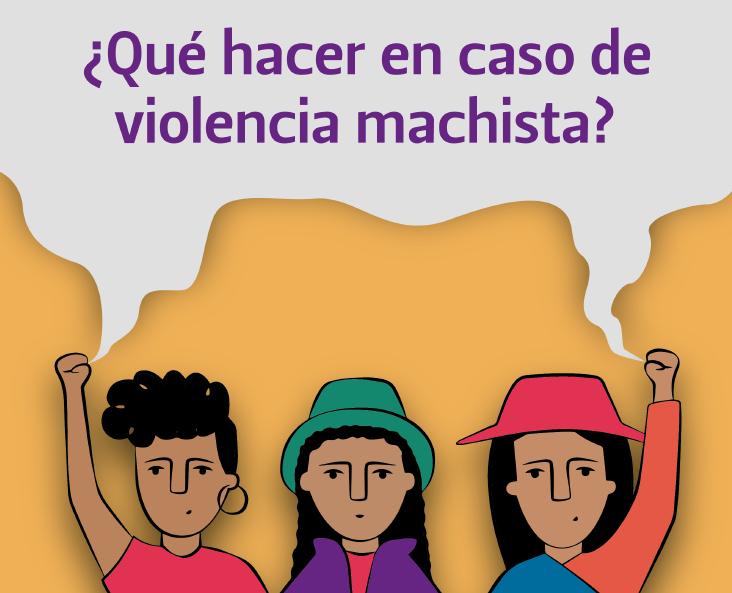 ¿Qué hacer en caso de violencia machista?