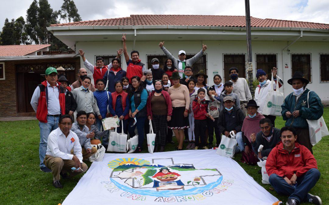 """Termina el ciclo de formación en agroecología de la Red de Escuelas de la Sierra Centro """"Ayllukunapak Yachay"""""""