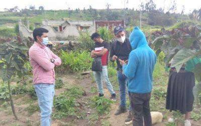 Comunidades piden capacitación para cuidar sus cultivos