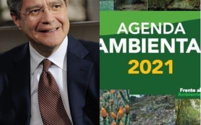 Compromiso ambiental firmado por el candidato Guillermo Lasso