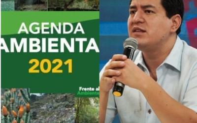 Compromiso ambiental firmado por el candidato Andrés Arauz