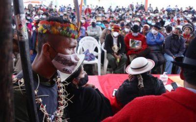 Posiciones contrarias de los dirigentes de la Ecuarunari sobre el Congreso de la Conaie
