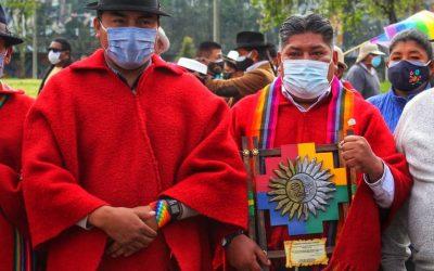 Protestas para el 11 de junio prepara el dirigente indígena Leonidas Iza