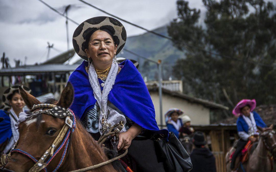 MARÍA VICENTA ANDRADE: SI NO HAY DIÁLOGO, HABRÁ RESISTENCIA Y LUCHA EN ECUADOR