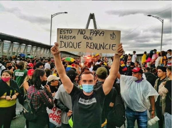 El IEE y OCARU nos solidarizamos con el pueblo Colombiano