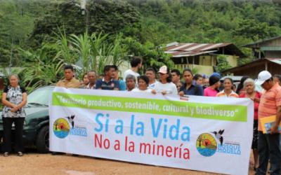En Pacto chocan las actividades mineras contra los activistas