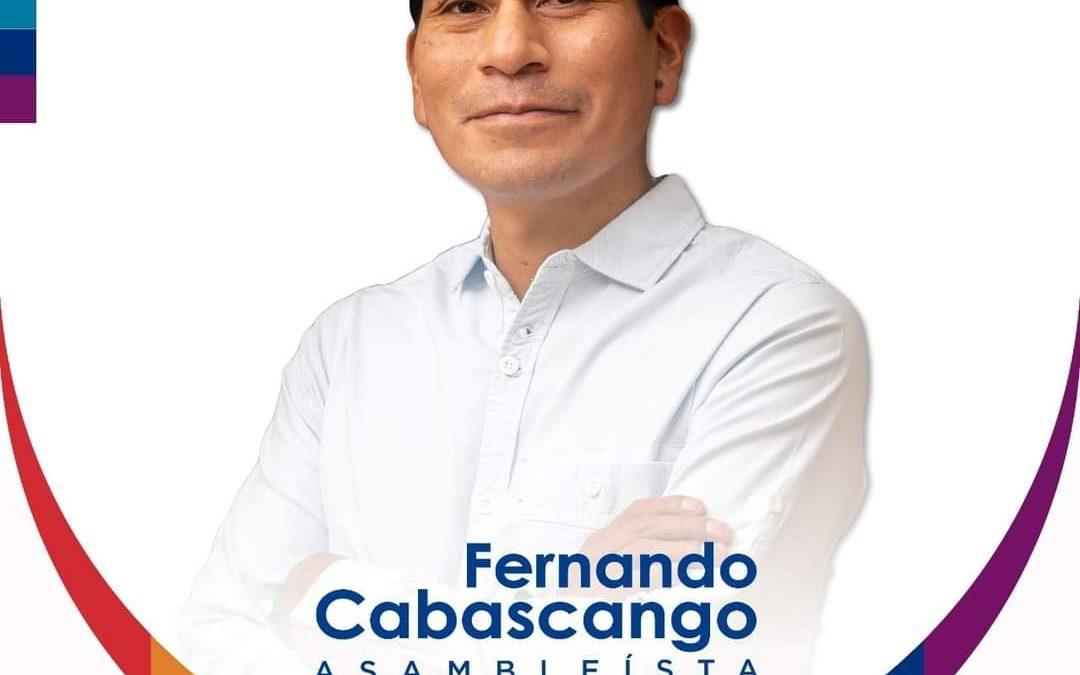 Entrevista Fernando Cabascango Asambleísta por Pachakutik