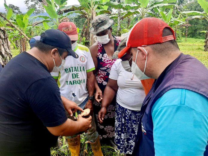 Capacitación a productores agropecuarios