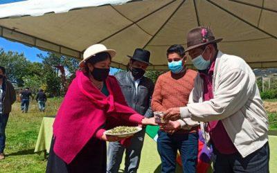 Productores de Chimborazo intercambian semillas para fortalecer la soberanía alimentaria