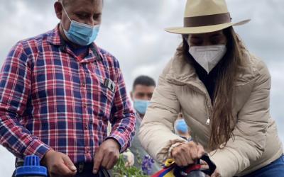 93 familias de Sigchos beneficiadas con un sistema de riego tecnificado