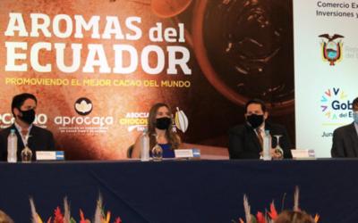 En la segunda edición de Aromas del Ecuador se exhibe lo mejor del cacao nacional