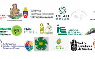 Colectivos y Organizaciones Sociales piden archivar el proyecto de Ley de Desarrollo Sustentable para el Sector Agropecuario