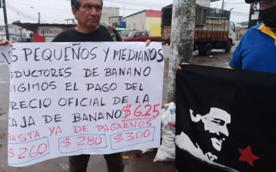 Agricultores ecuatorianos protagonizan paro nacional