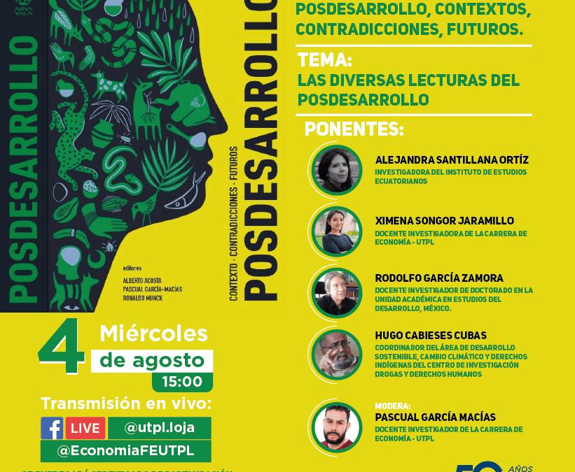 INVITACIÓN – Coloquio Internacional: POSDESARROLLO, contextos, contradicciones, futuros